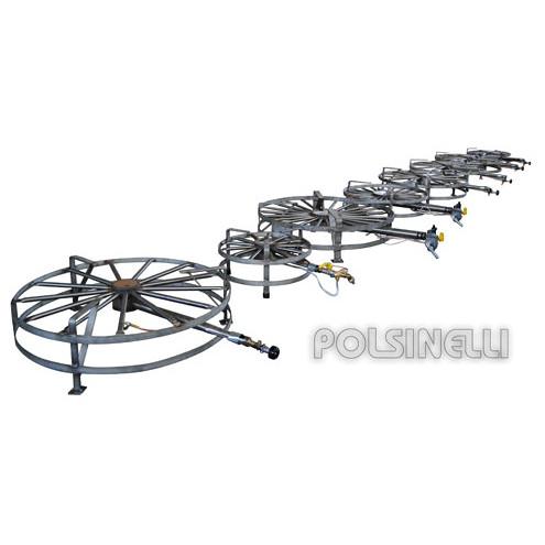 Hornillo de gas GPL de acero 14 kW PSP Ø 50