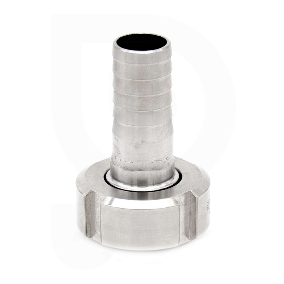 Hose connector DIN 15 M with swivel for ⌀ 20 hose