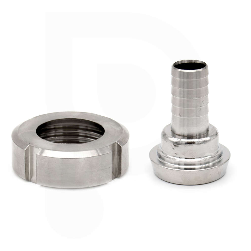 Hose connector DIN 25 M with swivel for ⌀ 20 hose