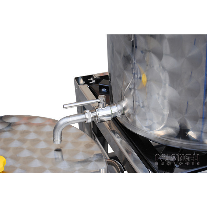Impianto birra EASY 50 Conico con fermentatore fondo conico 60°