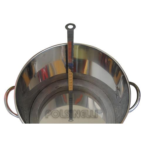 Indicator de nivel de acero inox Birrometro 130