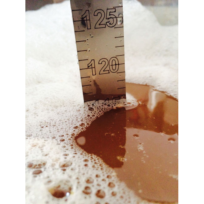Indicator de nivel de acero inox Birrometro 70