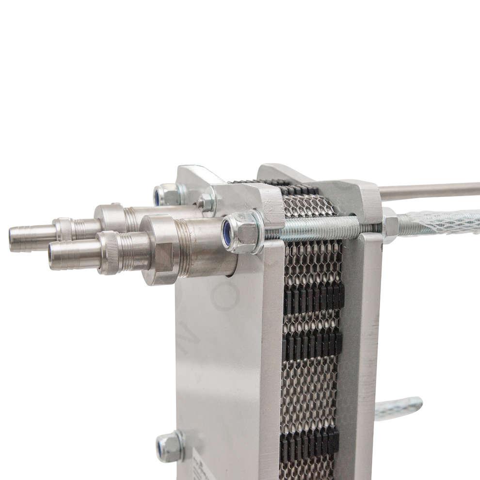 Intercambiador de calor Maxi 80 con 22 placas