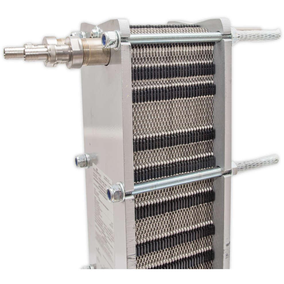 Intercambiador de calor Maxi 80 con 60 placas