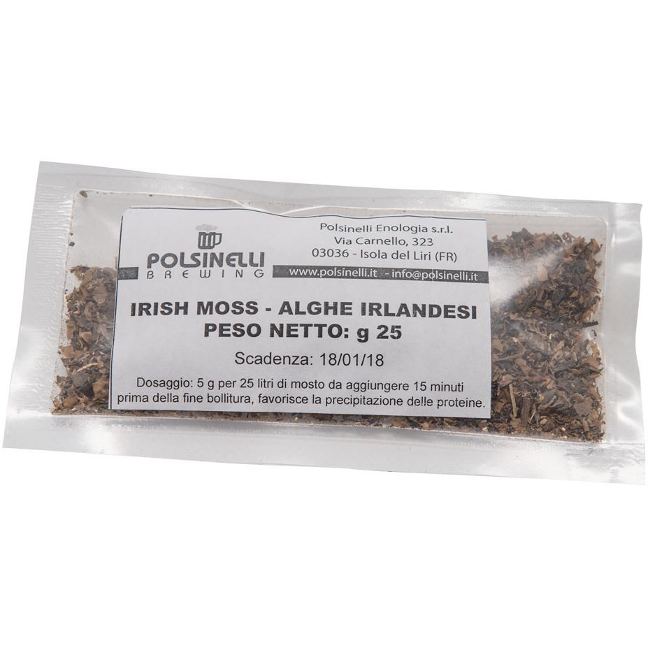 Irish Moss  (Alghe irlandesi) 25 gr