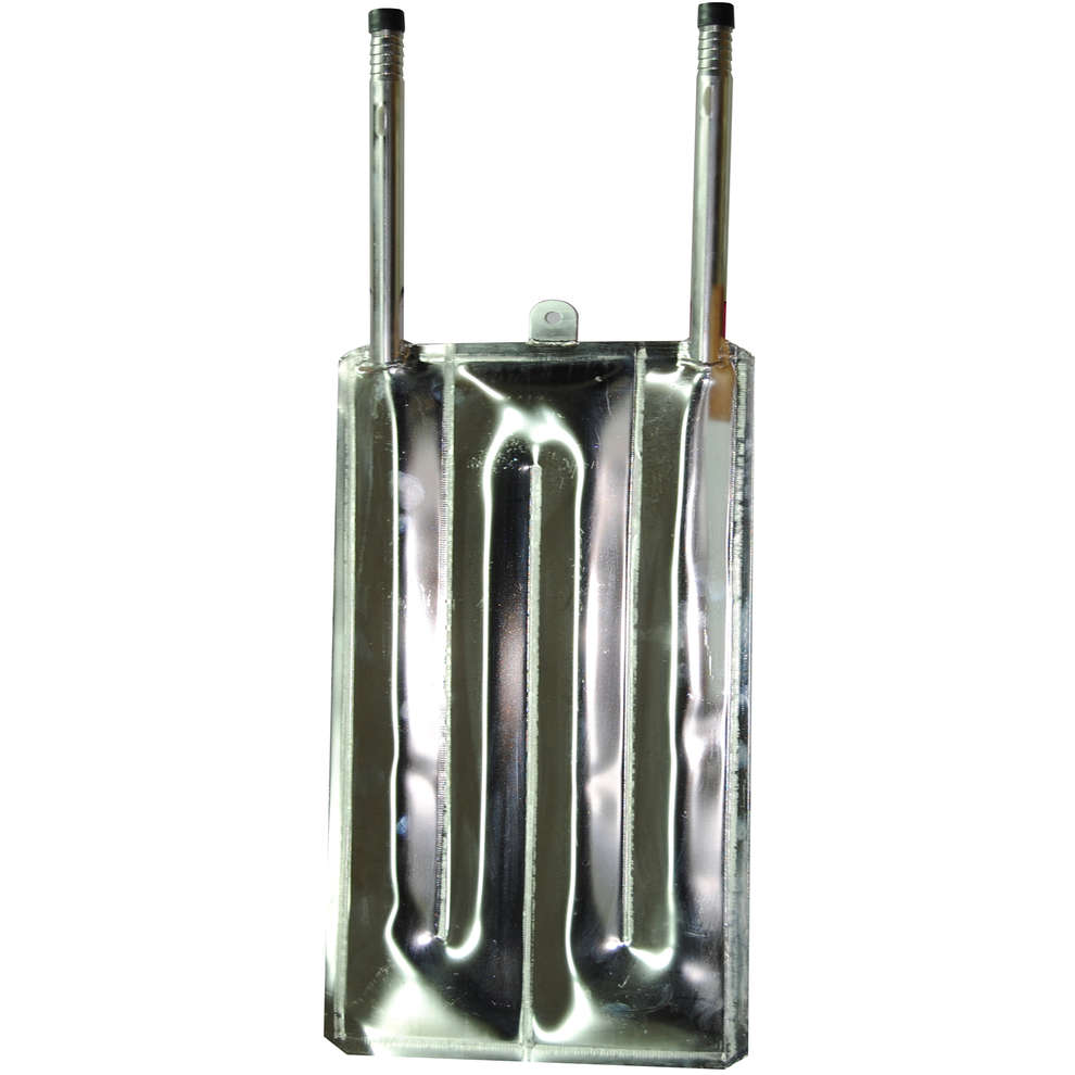 Kühlplatte aus Edelstahl 370 x 1200