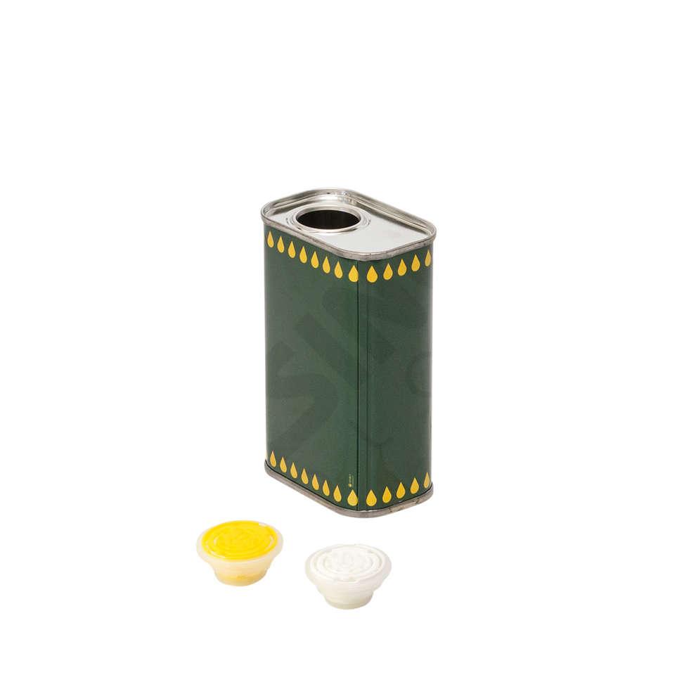 Kanister für Olivenöl 0,50 L (St. 28)