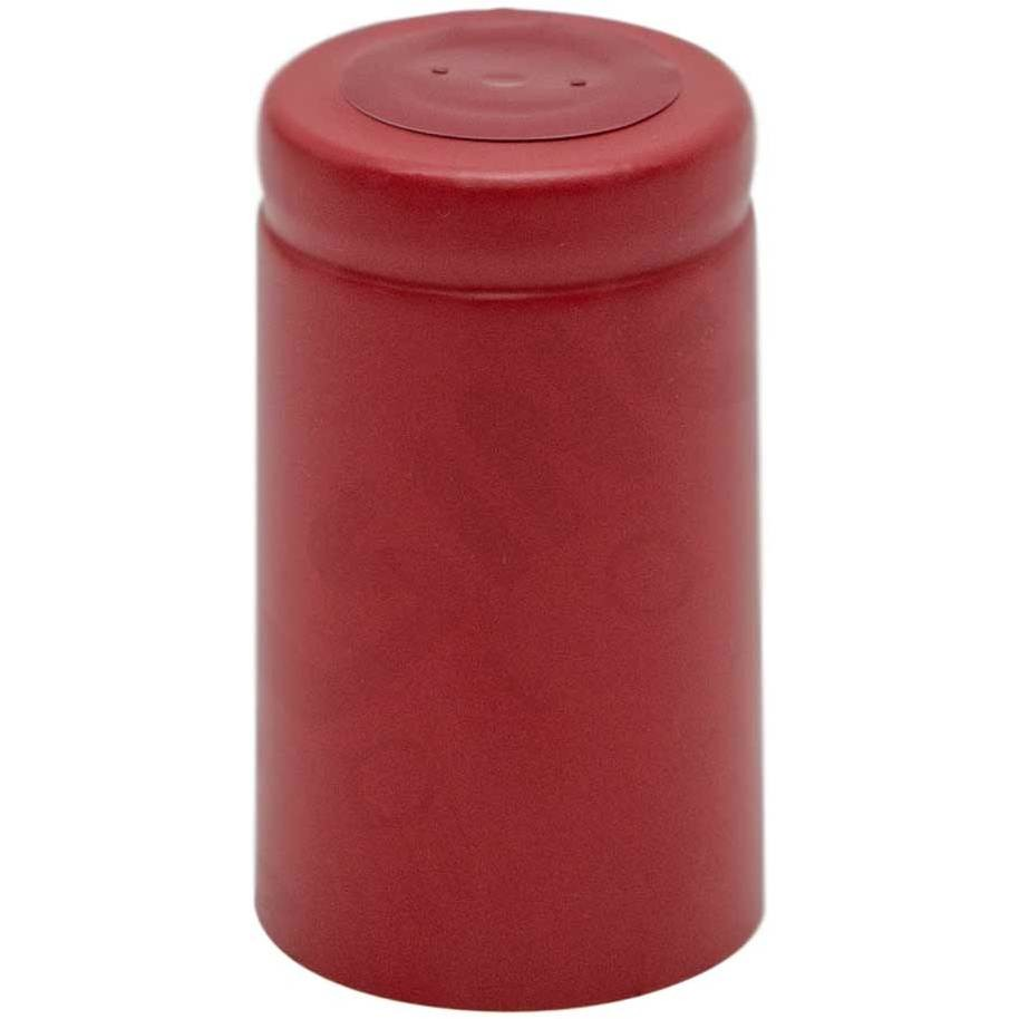 Kapsel in rot PVC ⌀33 (100 Stück)