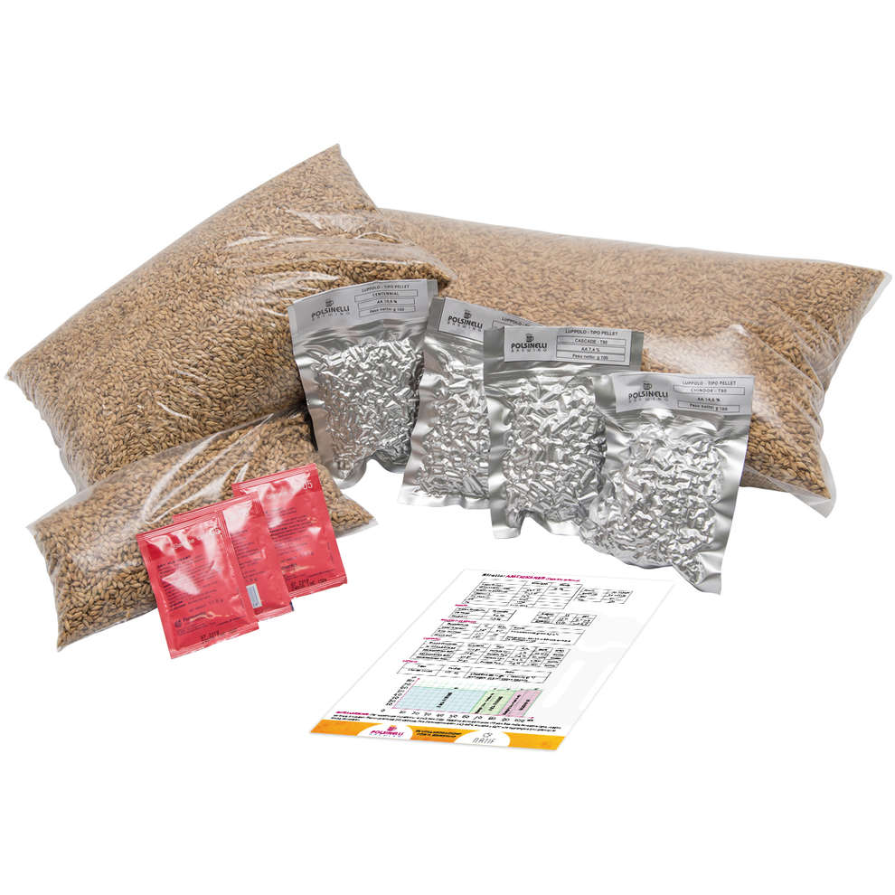 Kit all grain  Jungle Jam pour 50 lt - Ipa