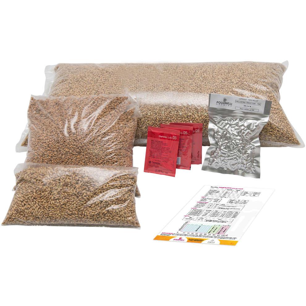 Kit  all grain Summer Sky per 55 lt - Blonde Ale