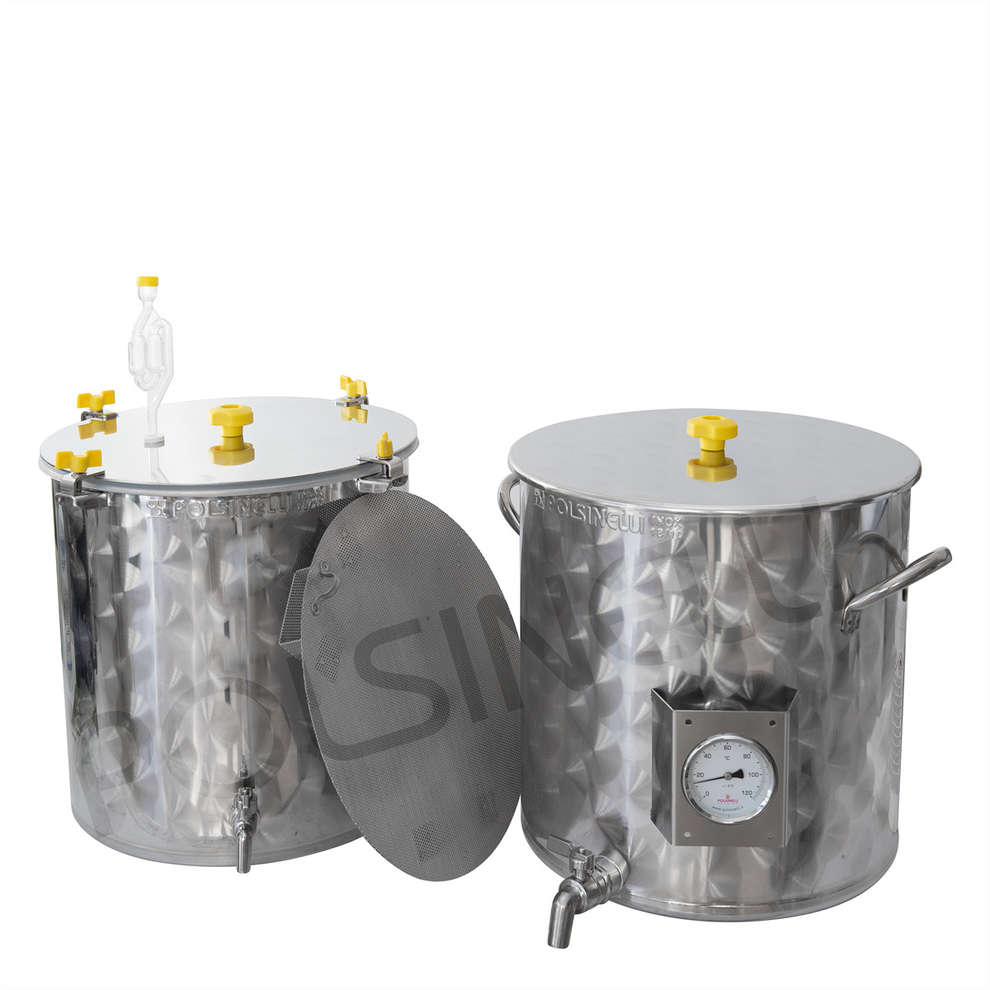 Kit de brassage amateur inox 50