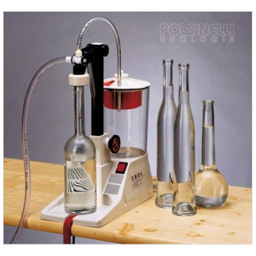 Kit  Enolmatic Kristal for long neck bottles