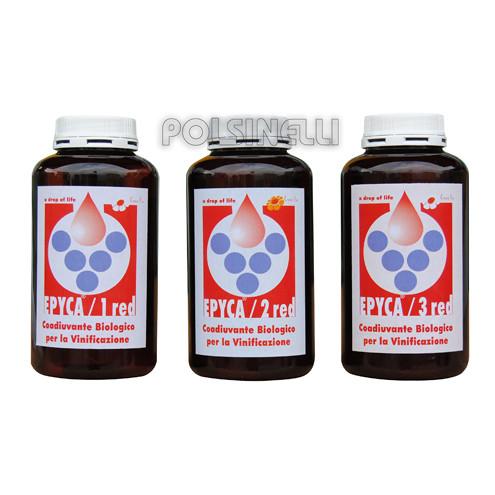 Kit Epyca rouge 1 + 2 + 3