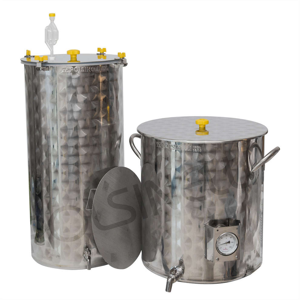 Kit homebrewing inox 100