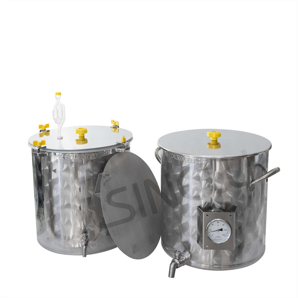 Kit homebrewing inox 35