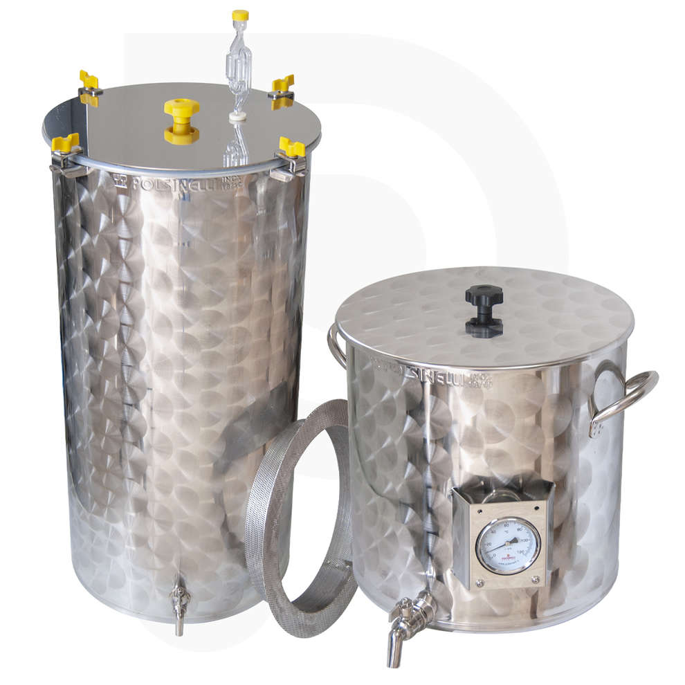 Kit homebrewing inox Halo 75