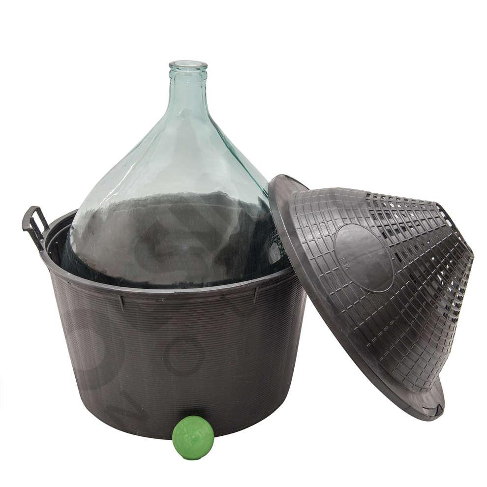 Korbflasche 34 L