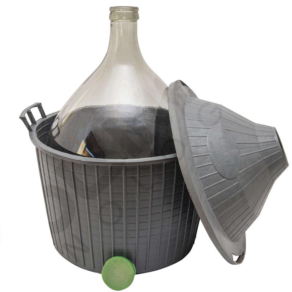 Korbflasche 54 L