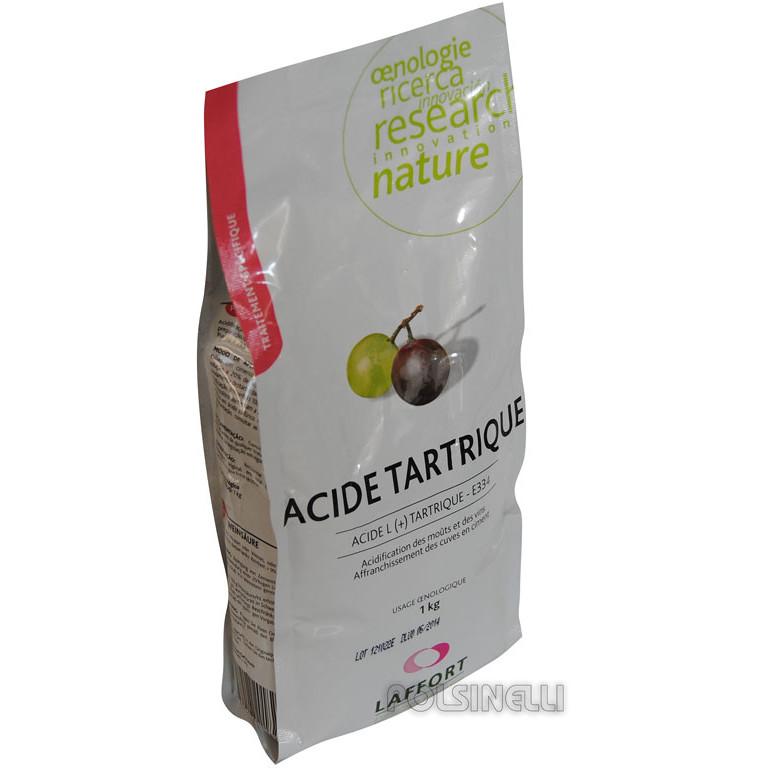 L'acide tartrique (1 kg)