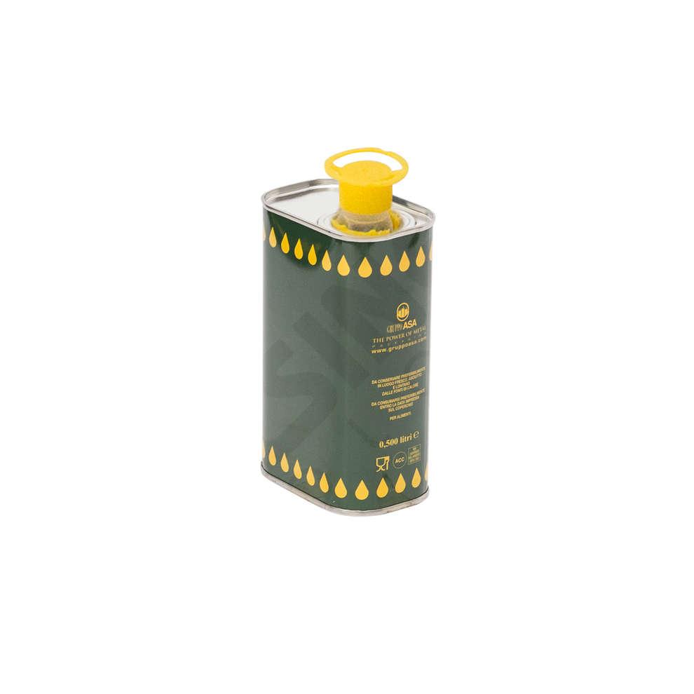 Lata para aceite 0,50 L (unid. 28)