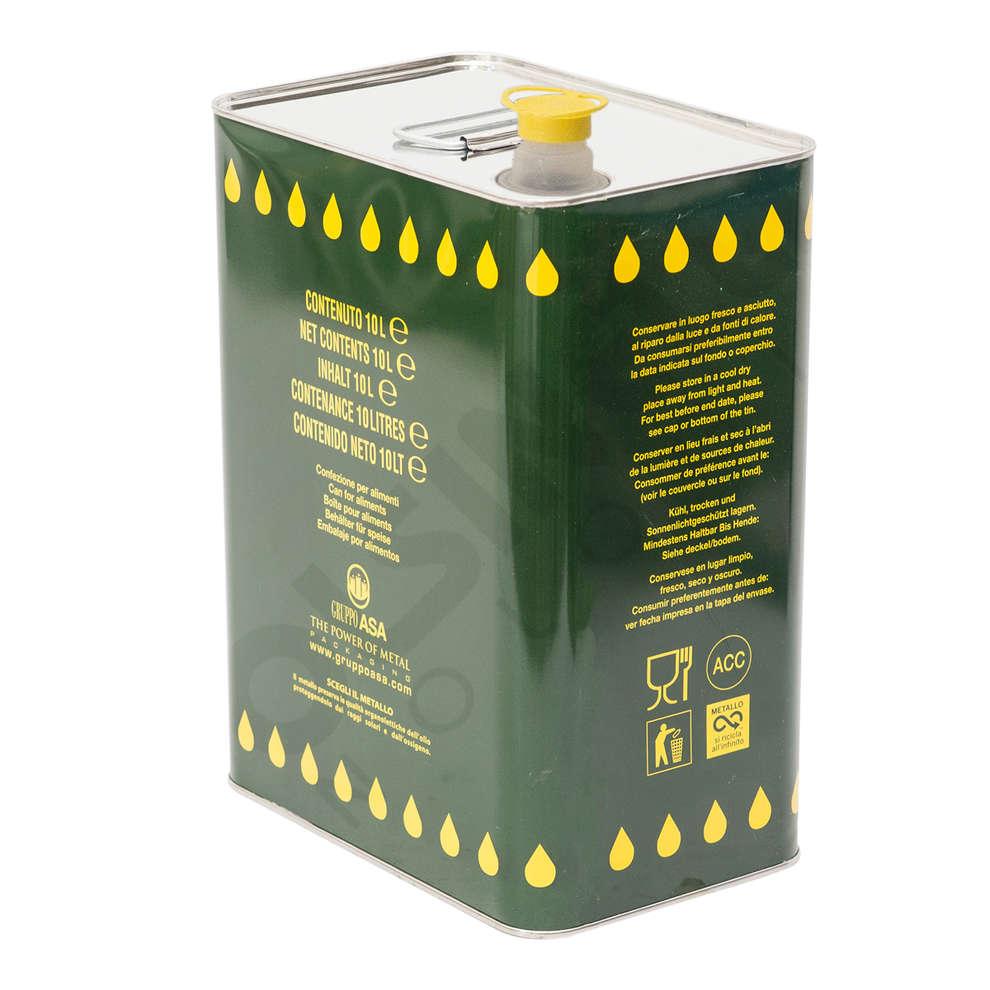 Lata para aceite 10 L (unid. 4)