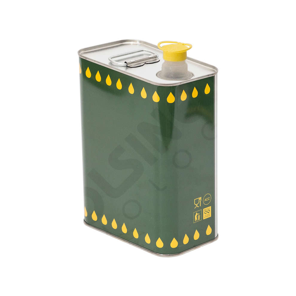 Lata para aceite 2 L (unid. 12)