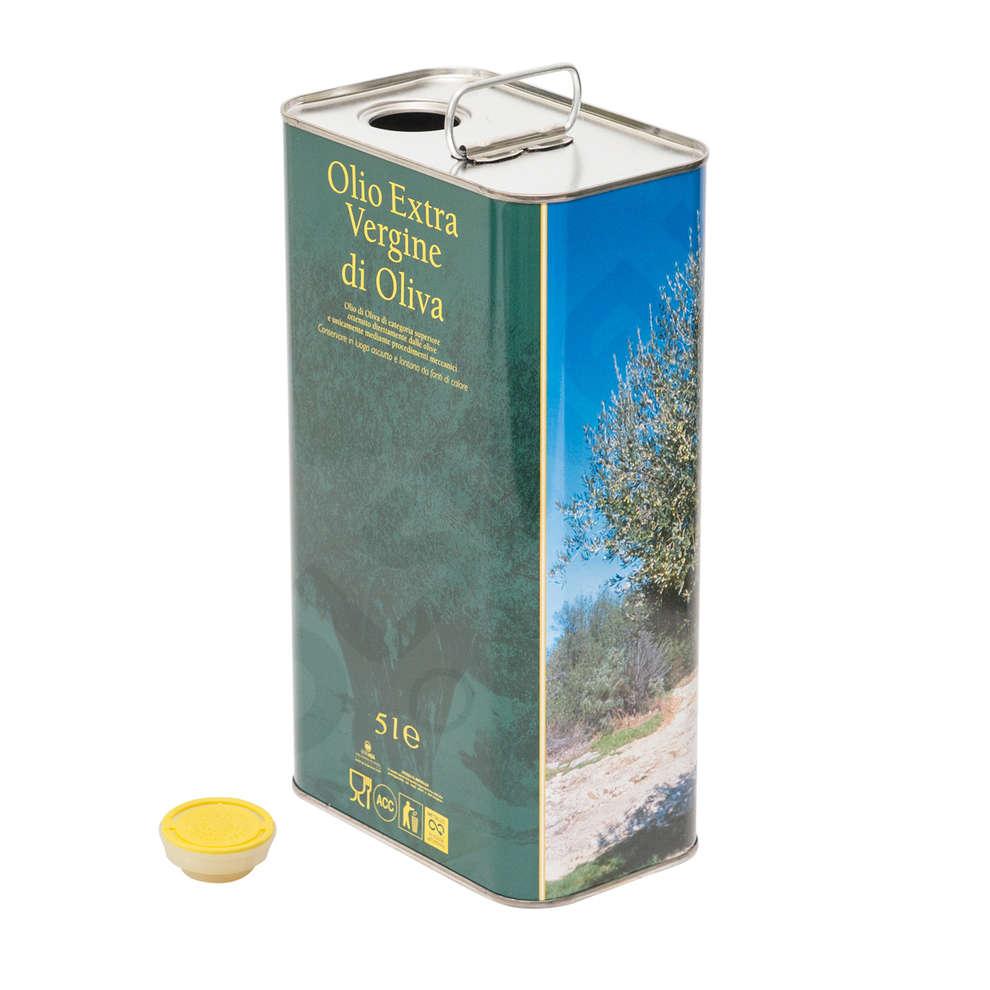 Lata para aceite 5 L Albero (12 pzas)