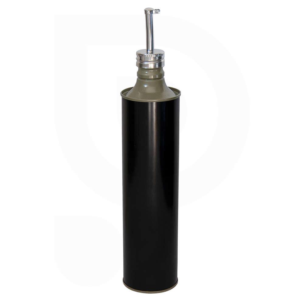 Lata para aceite negro brillante 0,75 L (unid. 35)