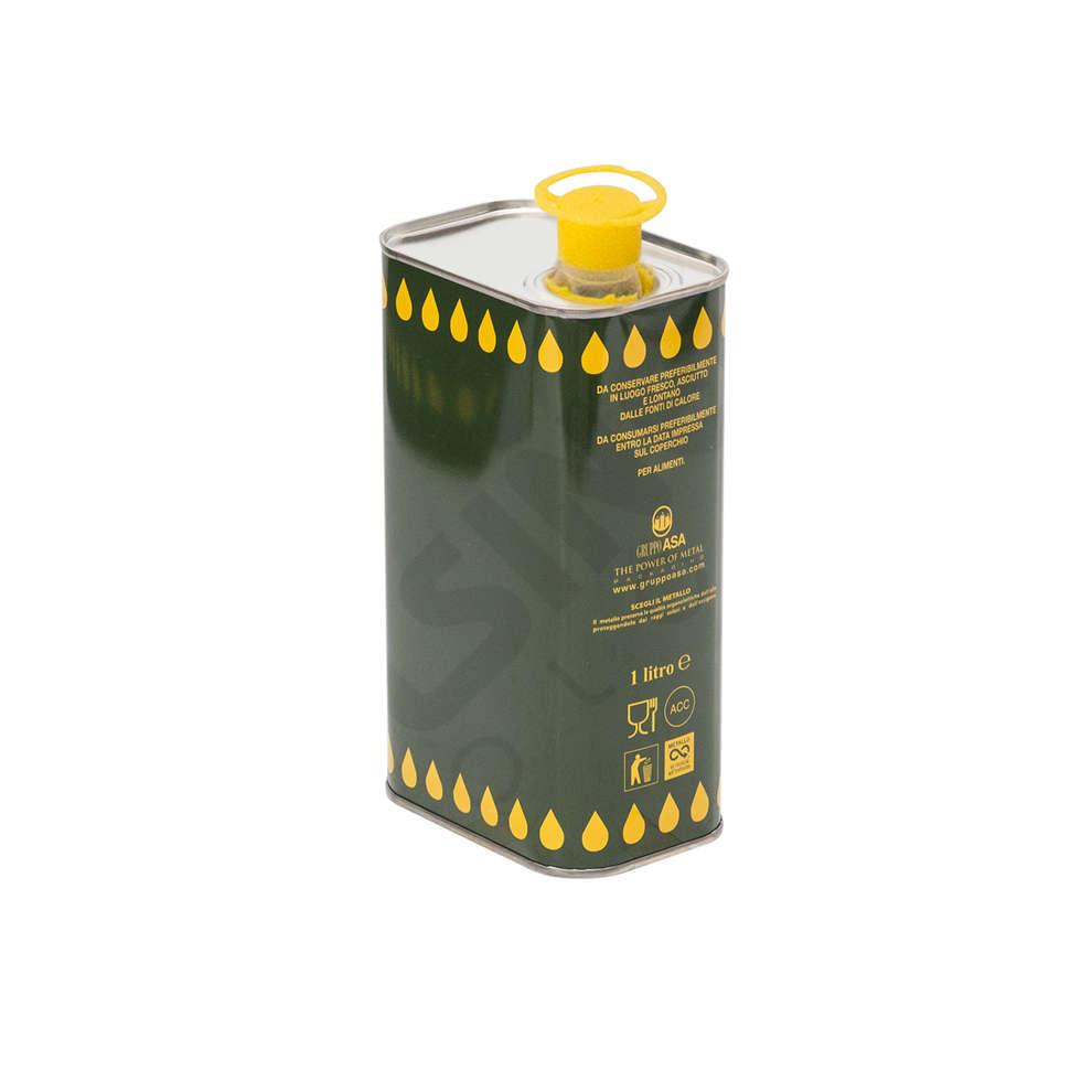 Lattina per olio 1 L (25 pz)