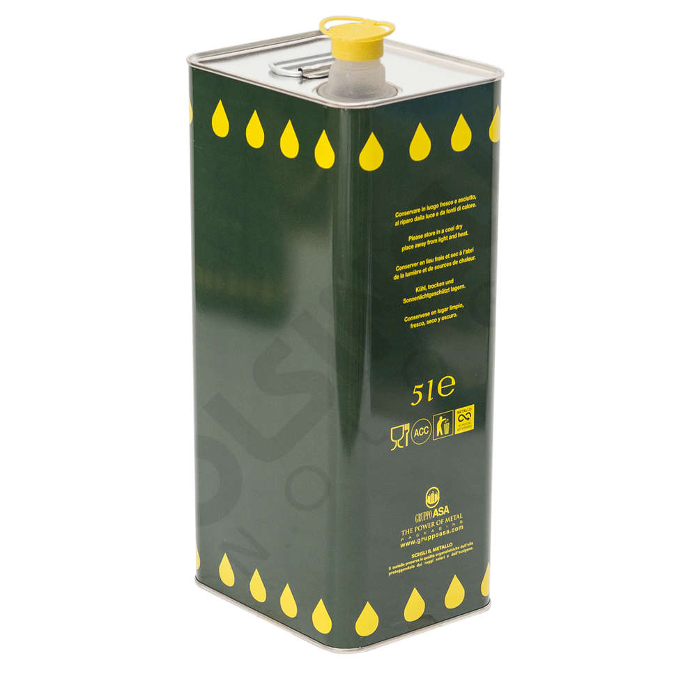 Lattina per olio 5 L (12 pz)