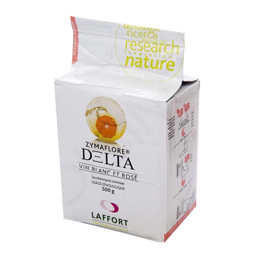 Levadura para vinos blancos y rosados zymaflore DELTA (500 g)