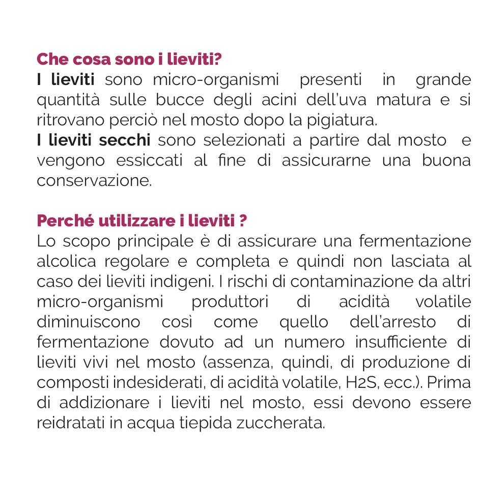 Levadura para vinos blancos y rosados zymaflore X16 (500 g)