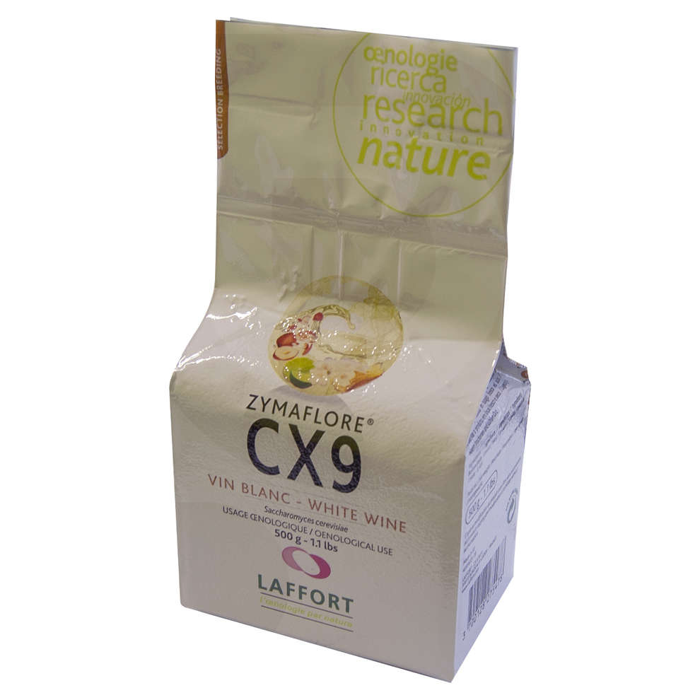 Levadura para vinos blancos ZYMAFLORE CX9 (500 g)