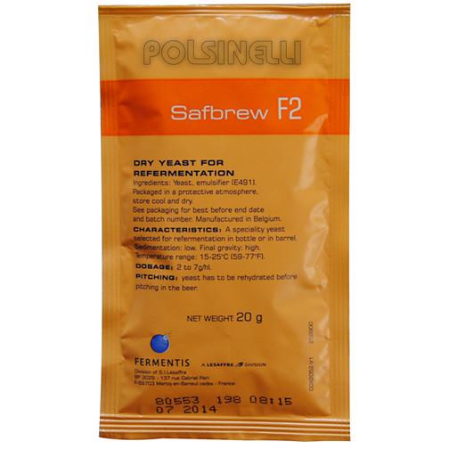 Levadura seca Fermentis SafAle F-2 (20 g)