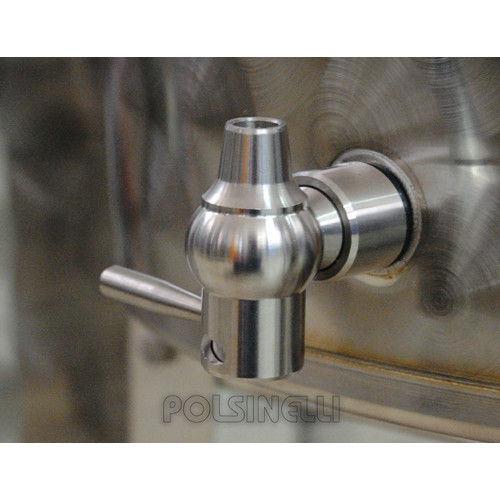 "Lever faucet steel 1/2 """