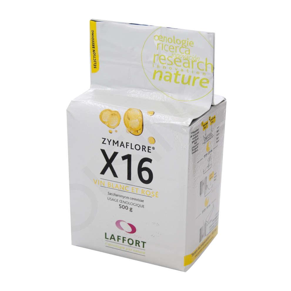 Levure pour les vins blancs et rosés Zymaflore X16 (500 g)