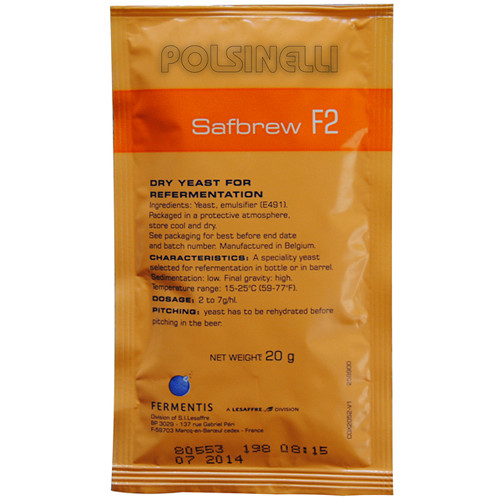 Levure sèche Fermentis Safbrew F-2 (20 g)