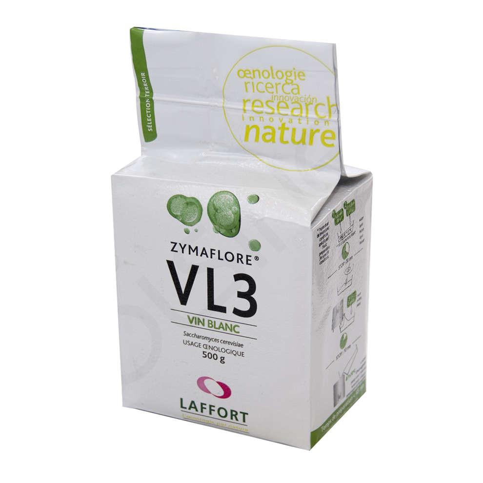 Lievito per vini bianchi e rosati Zymaflore VL3 (500 g)