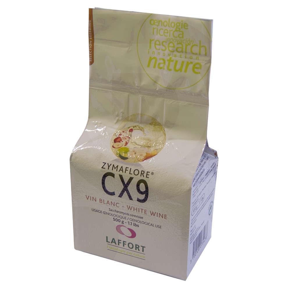 Lievito per vini bianchi Zymaflore CX9 (500 g)