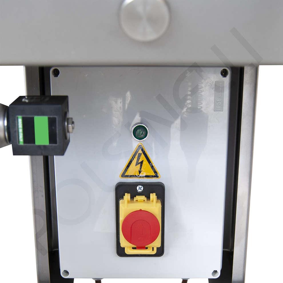 Llenadora Cad 4 de acero inox con flotador eléctrico