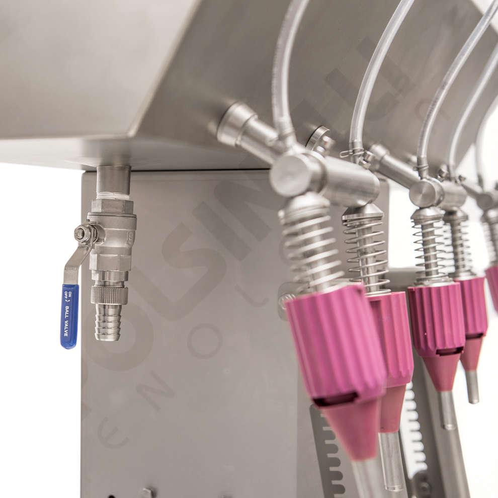 Llenadora de acero Comby 6