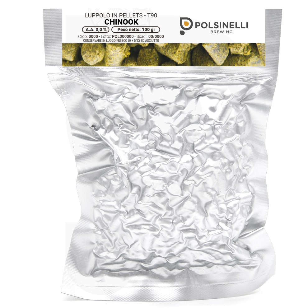 Luppolo Chinook 100 gr