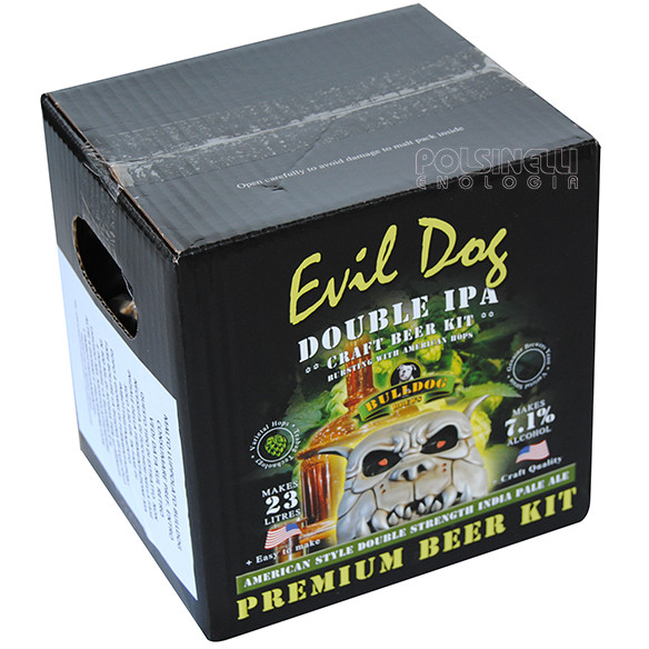 Malt Bulldog Evil Dog Double IPA (4.7 kg)
