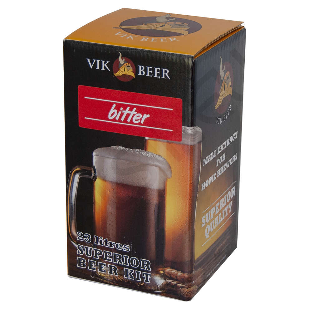 Malto Vik Beer Bitter con luppolo (1,7 kg)