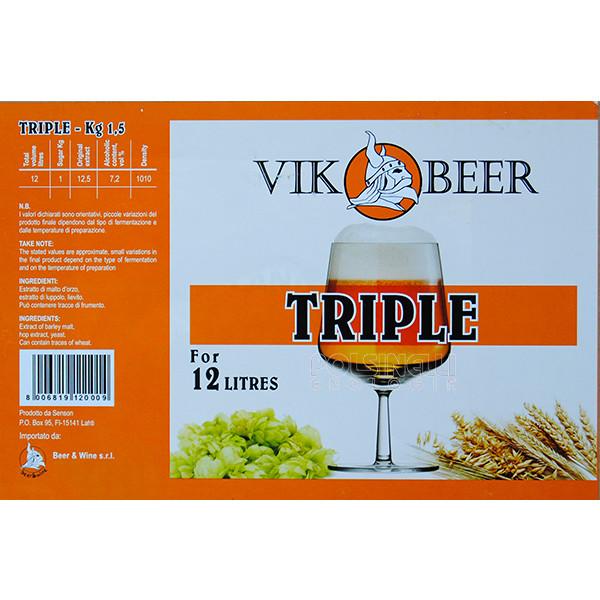 Malto Vik Beer Triple (1,5 kg)