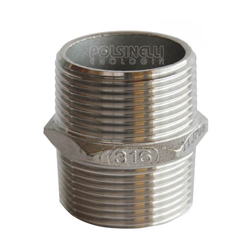 "Mamelon hexagonal inox 1"" 1/4"