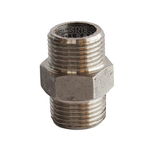 Mamelon hexagonal inox 1/2""