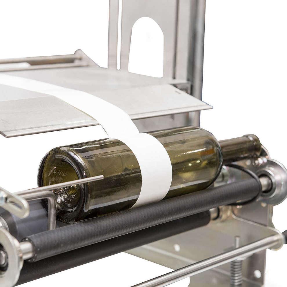 Manual labeling machine Eti 05 more Lot stamper for labeling