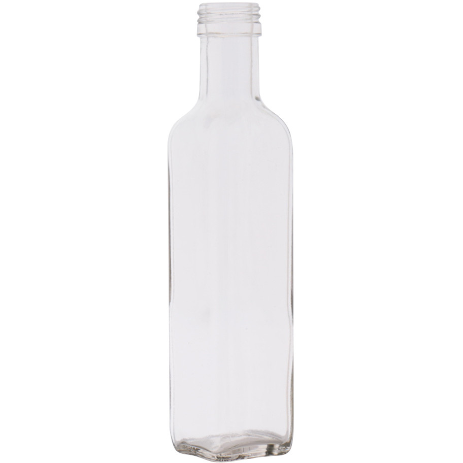 Marasca bottle 250 ml semi clear (42 pieces)