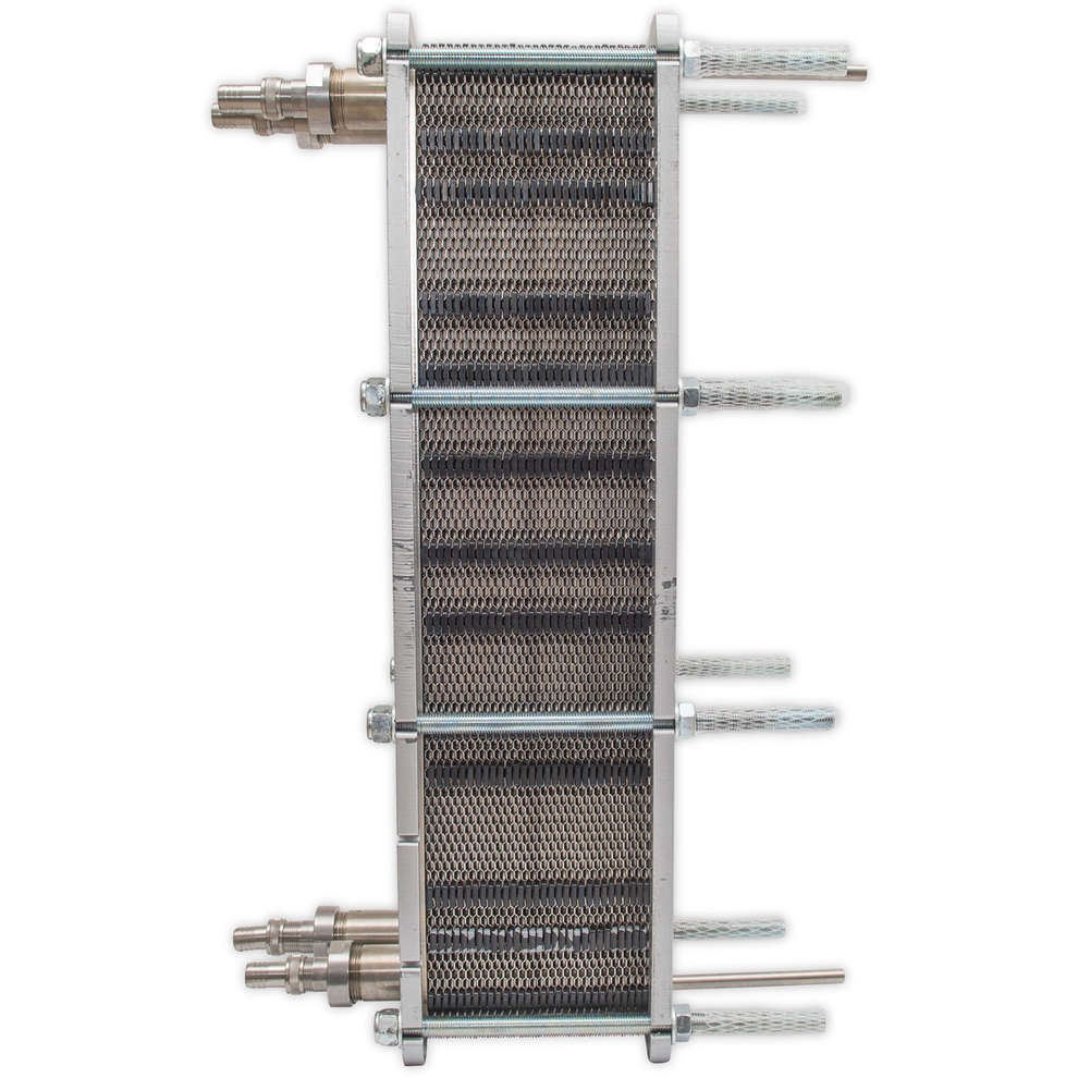 Maxi 80 Heat exchanger with 60 plates
